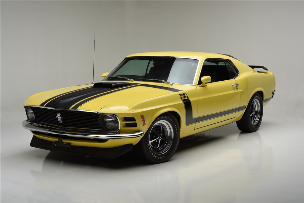 1970 FORD MUSTANG BOSS 302 FASTBACK - 203853