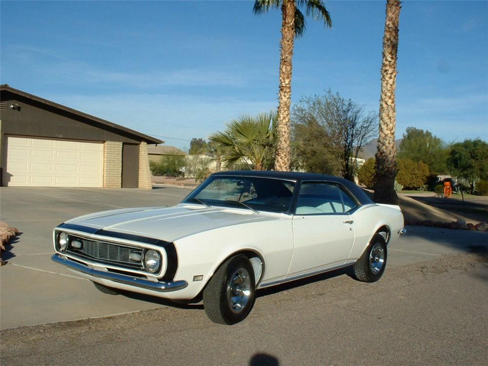 1968 CHEVROLET CAMARO SPORT COUPE - Front 3/4 - 20410