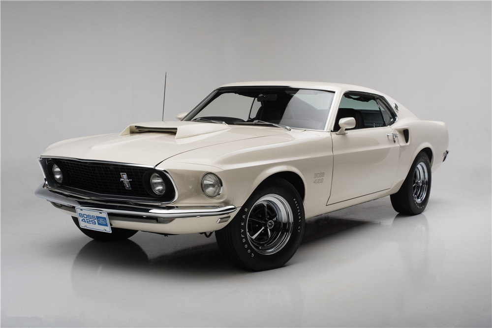 1969 FORD MUSTANG BOSS 429  - Front 3/4 - 204501