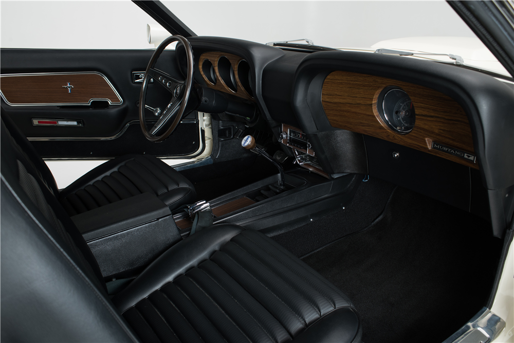 1969 FORD MUSTANG BOSS 429  - Interior - 204501