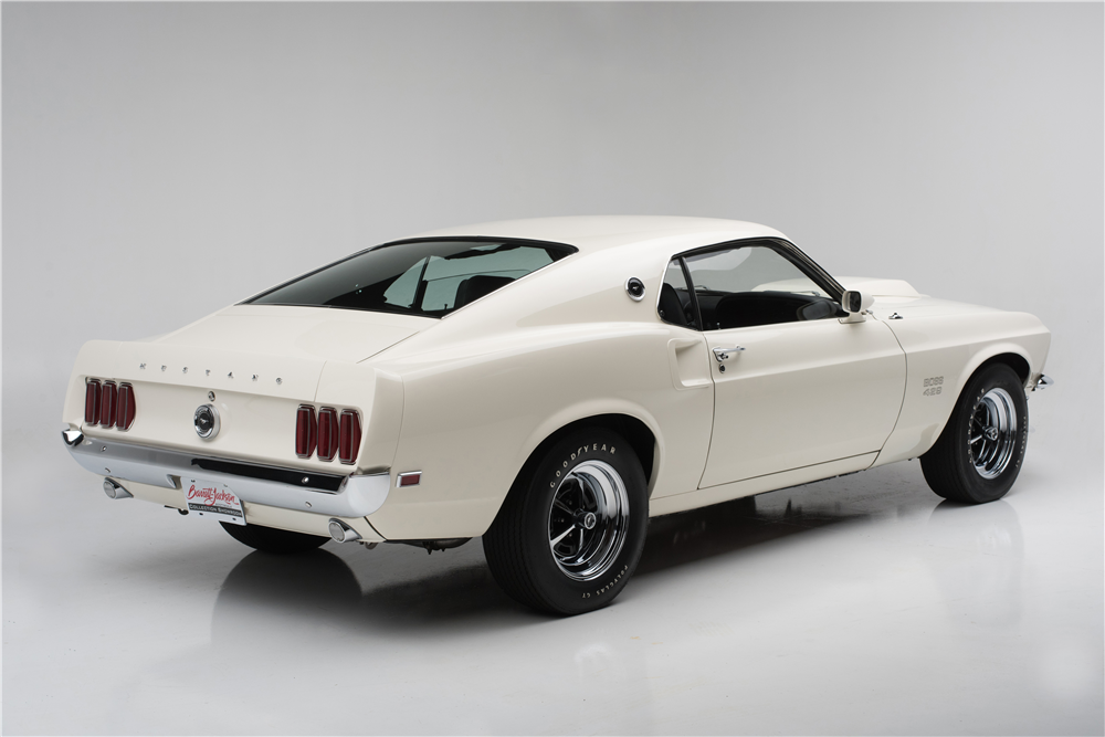 1969 FORD MUSTANG BOSS 429  - Rear 3/4 - 204501