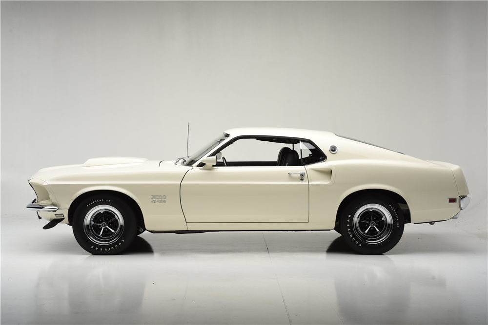1969 FORD MUSTANG BOSS 429  - Side Profile - 204501
