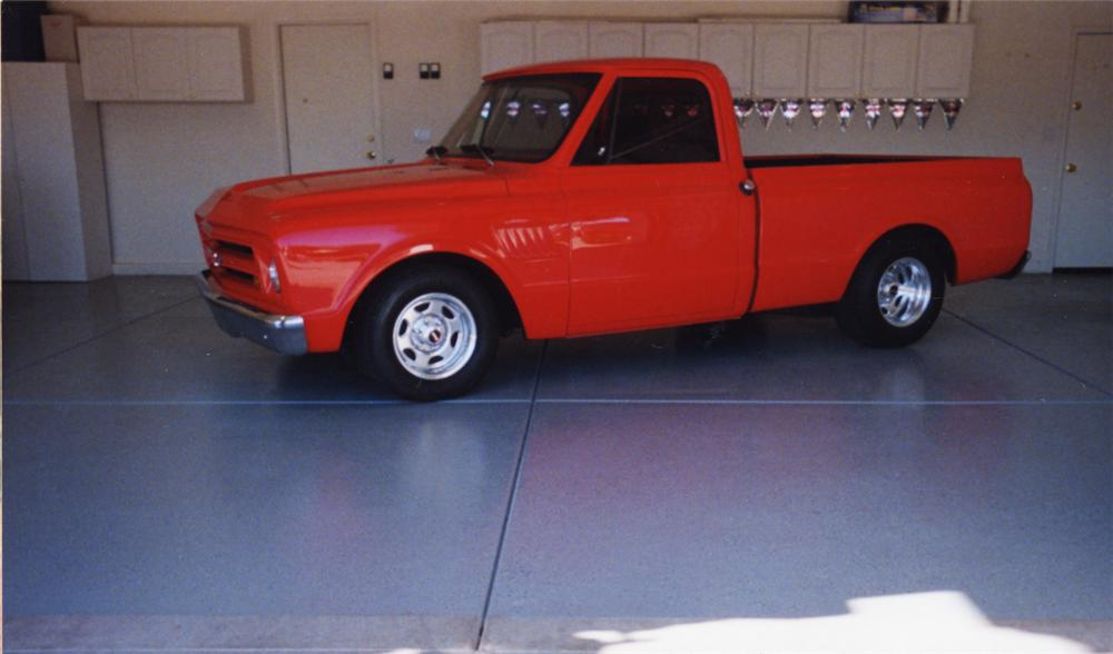 1967 CHEVROLET 1/2 TON PICKUP - Front 3/4 - 20463