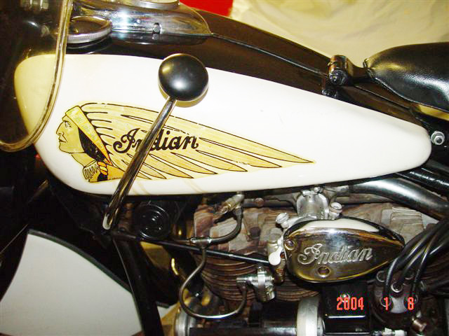 1942 INDIAN IN LINE MOTORCYCLE - Engine - 20492