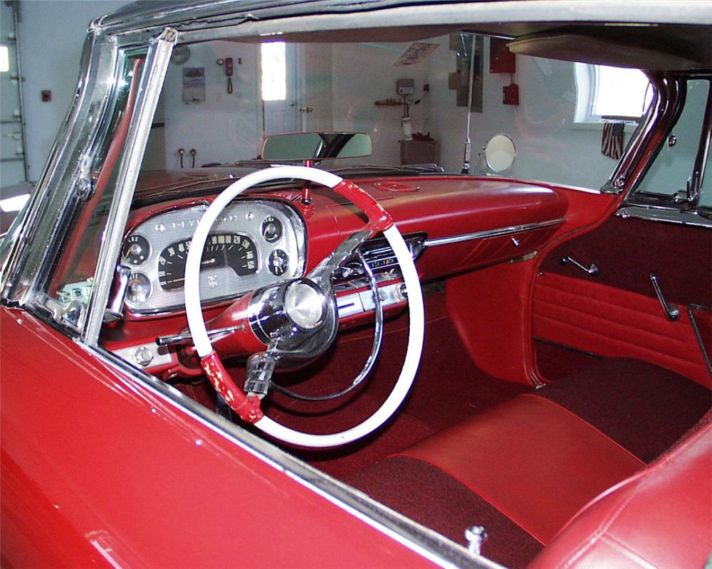 "1958 PLYMOUTH FURY ""CHRISTINE"" FROM THE BILL PRIZE - Interior - 20543"
