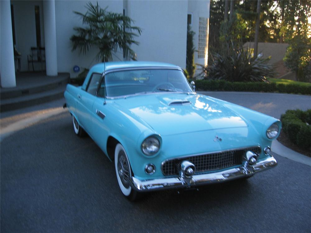 1955 FORD THUNDERBIRD CONVERTIBLE - Front 3/4 - 20545