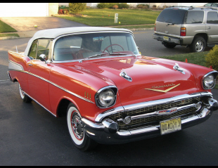 1957 CHEVROLET BEL AIR CONVERTIBLE -  - 20555