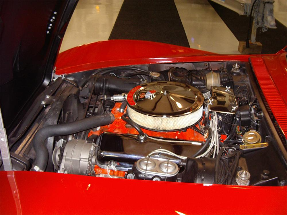 1970 CHEVROLET CORVETTE CONVERTIBLE - Engine - 20557