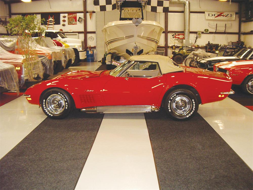 1970 CHEVROLET CORVETTE CONVERTIBLE - Front 3/4 - 20557