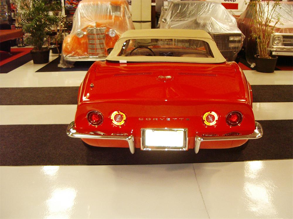 1970 CHEVROLET CORVETTE CONVERTIBLE - Rear 3/4 - 20557