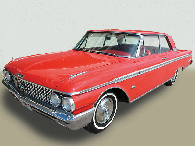 1962 FORD GALAXIE 500 XL 2 DOOR - Front 3/4 - 20558