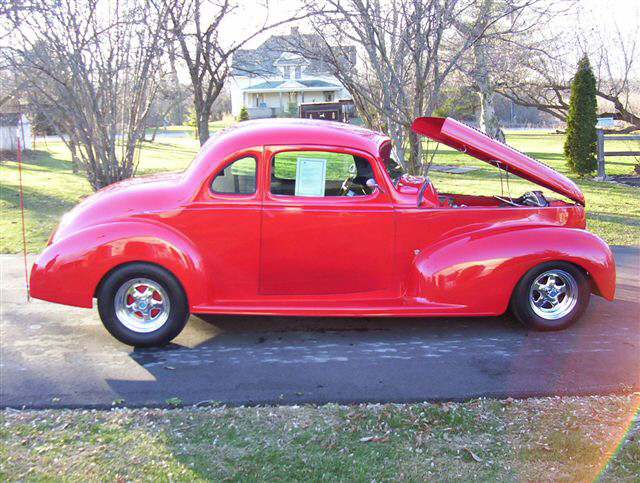 1939 HUDSON COUPE STREET ROD - Side Profile - 20564