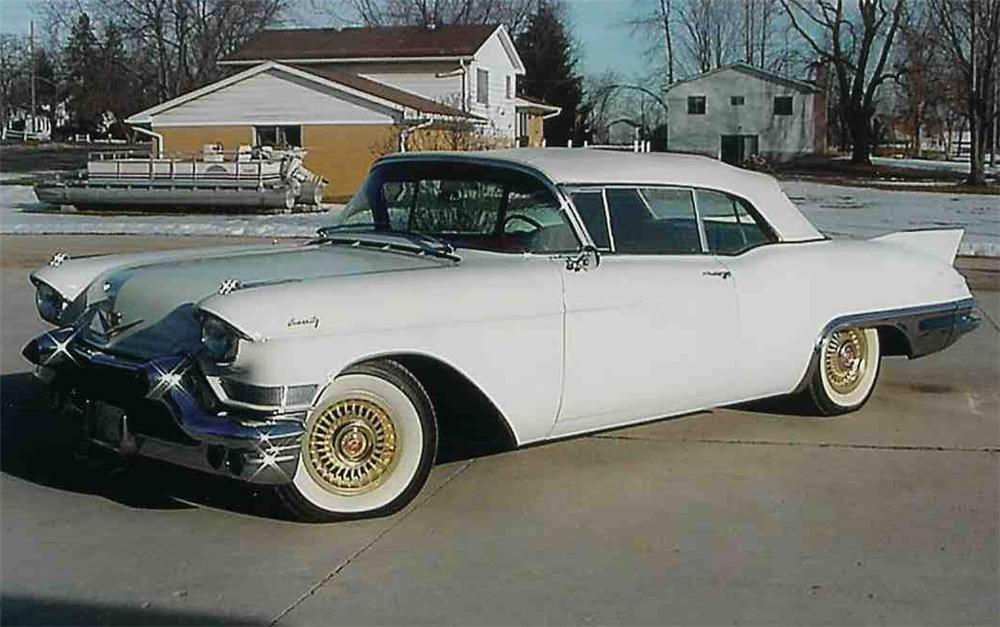 1957 cadillac eldorado biarritz - photo #19
