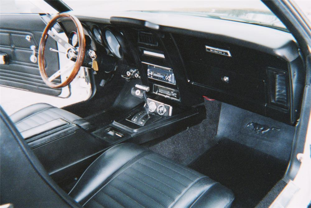 1973 FORD MUSTANG MACH 1 FASTBACK - Interior - 20566