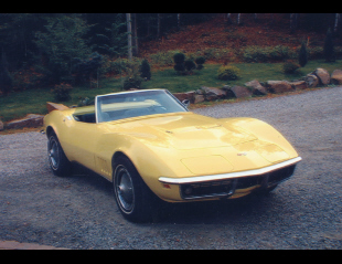 1968 CHEVROLET CORVETTE CONVERTIBLE -  - 20569