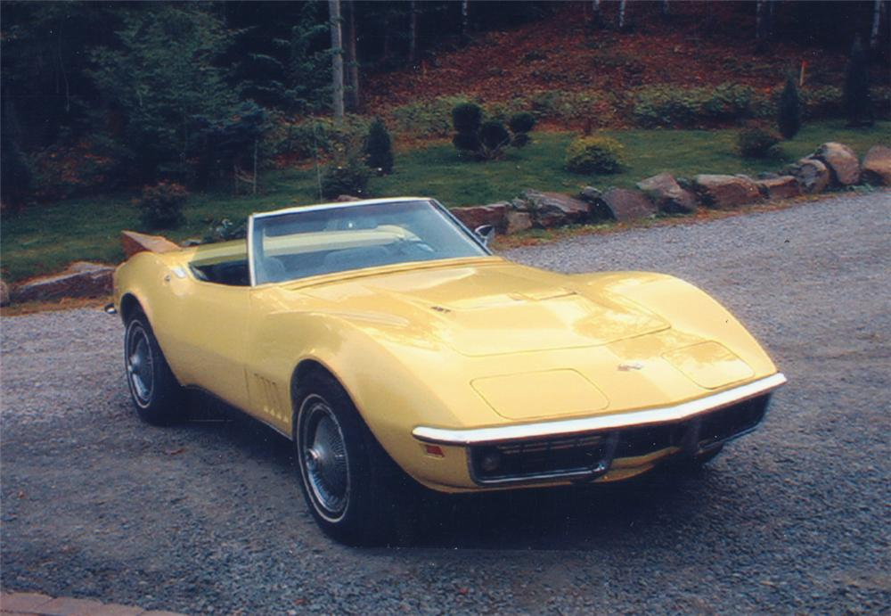 1968 CHEVROLET CORVETTE CONVERTIBLE - Front 3/4 - 20569