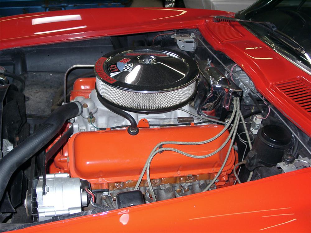 1966 CHEVROLET CORVETTE 427/425 COUPE - Engine - 20571