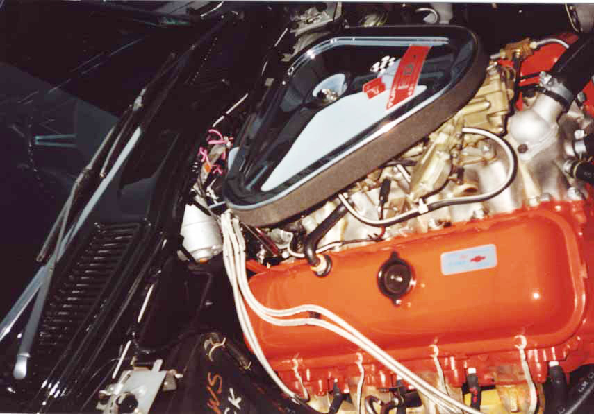 1967 CHEVROLET CORVETTE 427/435 CONVERTIBLE - Engine - 20576