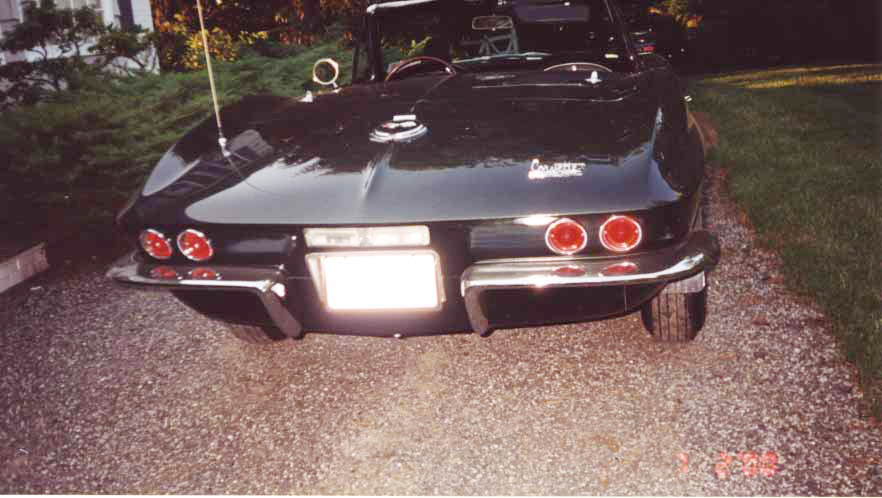 1967 CHEVROLET CORVETTE 427/435 CONVERTIBLE - Rear 3/4 - 20576