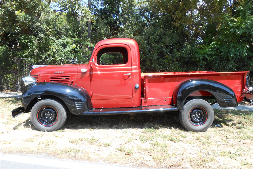 1946 dodge 3 4 ton pickup 205788. Black Bedroom Furniture Sets. Home Design Ideas