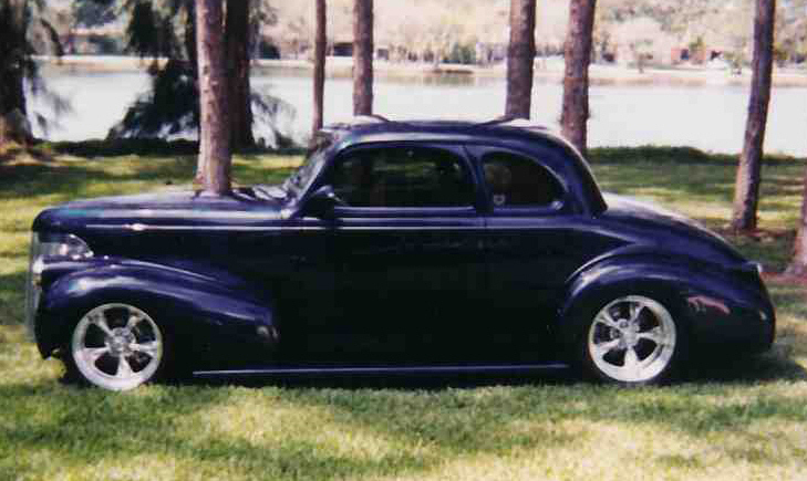 1939 Chevrolet Custom Coupe 20589