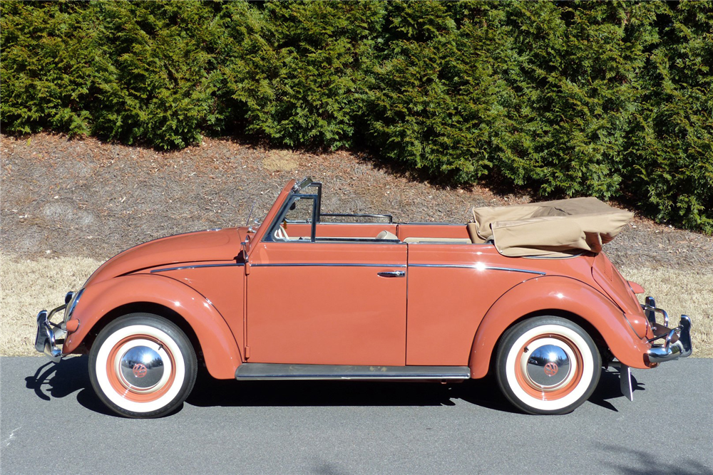 1956 volkswagen beetle convertible 205893. Black Bedroom Furniture Sets. Home Design Ideas