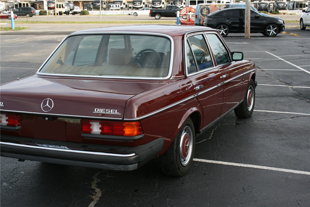 1983 mercedes benz 240d 205959 for Mercedes benz 240 d