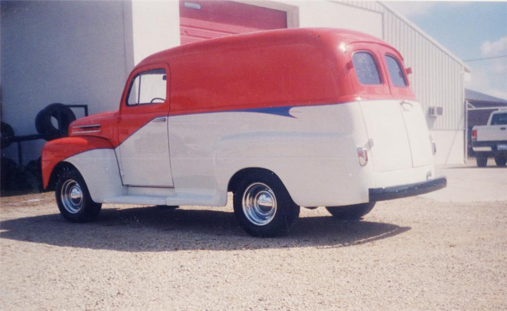 1948 FORD PANEL TRUCK - Rear 3/4 - 20602