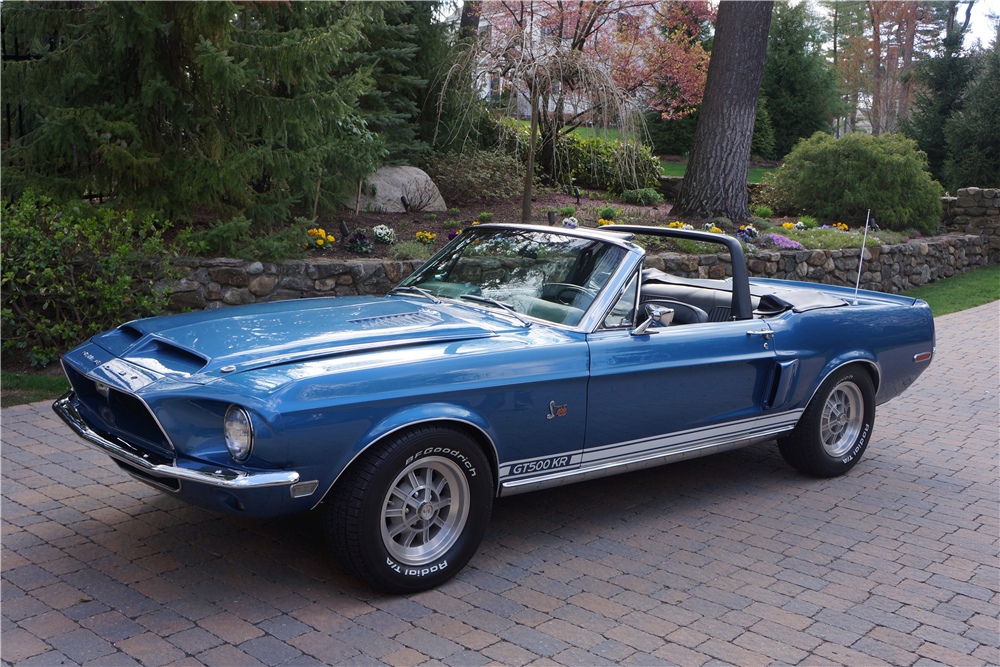 LEE MARVIN'S 1968 SHELBY GT500KR CONVERTIBLE206021