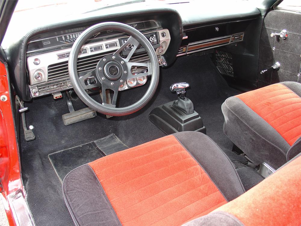 1967 FORD GALAXIE 2 DOOR HARDTOP - Interior - 20603