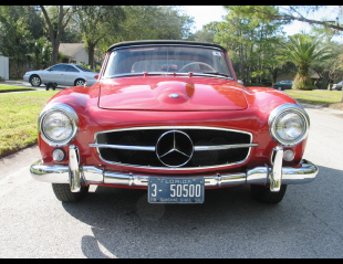 1956 MERCEDES-BENZ 190SL ROADSTER -  - 20609