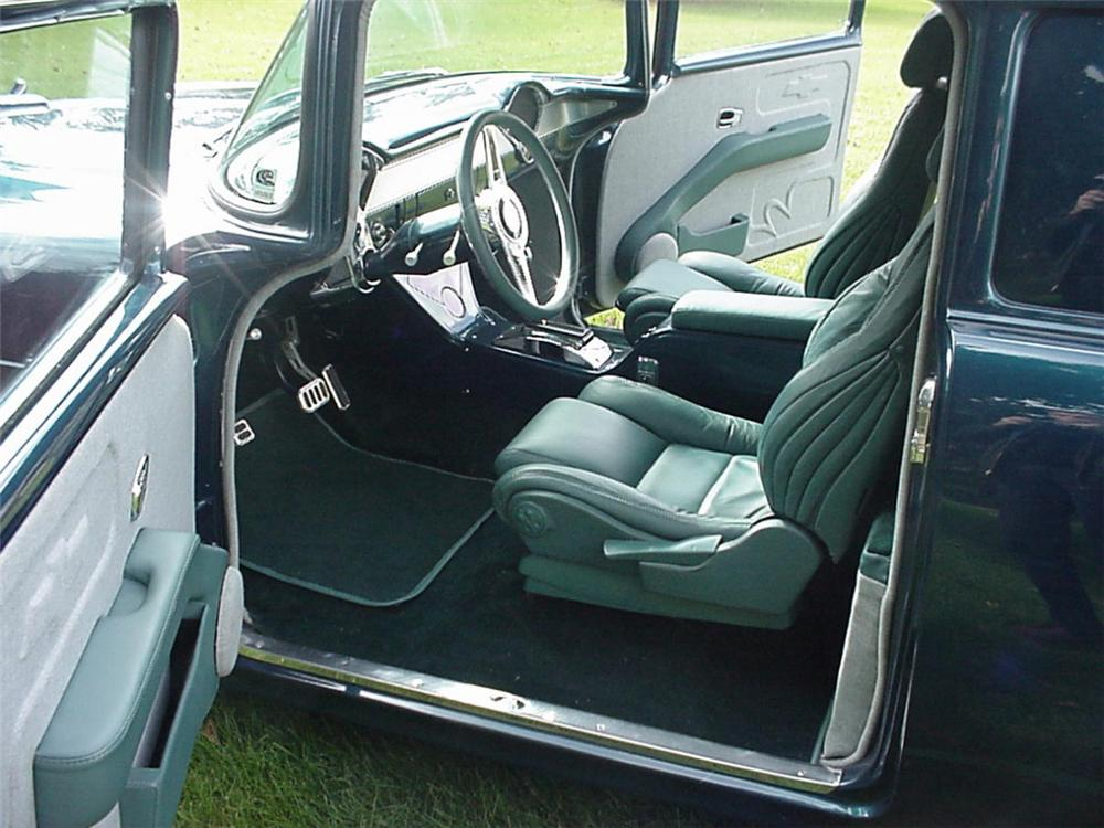 1955 CHEVROLET CUSTOM SEDAN DELIVERY - Interior - 20612
