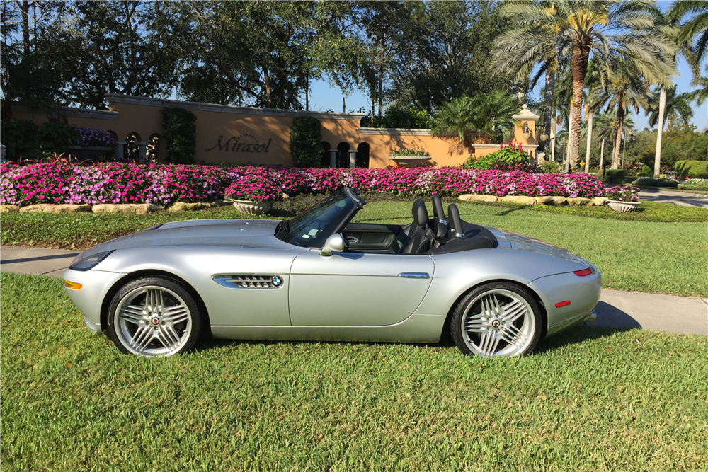 2003 Bmw Z8 Alpina Convertible 206120