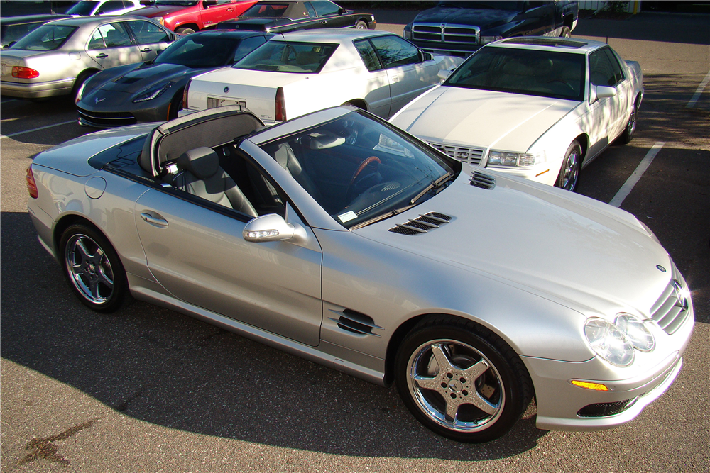 2003 mercedes benz sl500 amg convertible 206198 for Mercedes benz sl500 amg