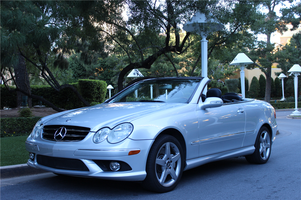2006 mercedes benz clk500 206203 for Mercedes benz clk500 for sale