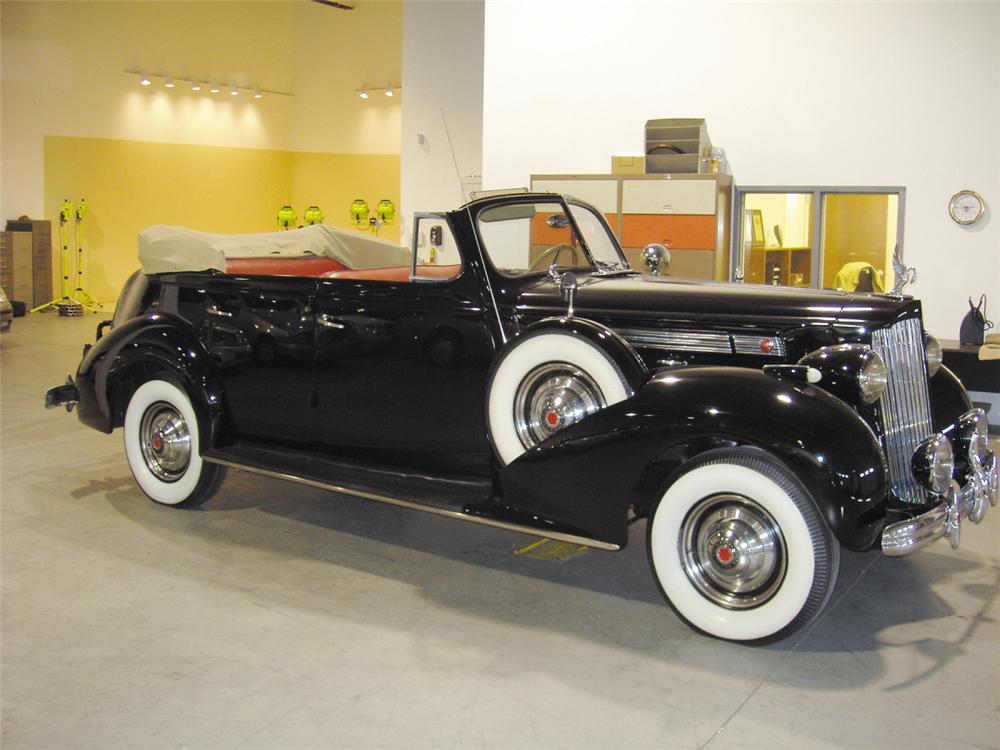 1939 PACKARD 1703 4 DOOR CONVERTIBLE - Front 3/4 - 20622