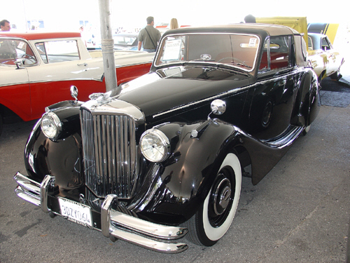 1950 JAGUAR MARK V DROPHEAD COUPE - Front 3/4 - 20623