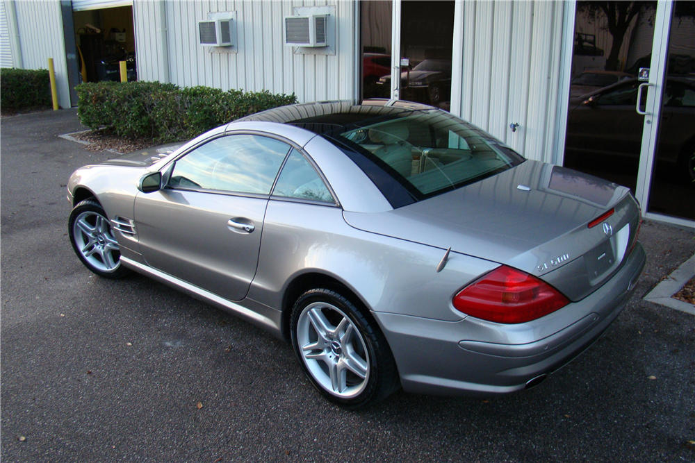 2006 mercedes benz sl500 amg convertible 206246