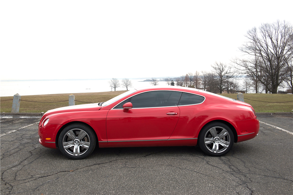 2005 bentley continental gt side profile 206268. Cars Review. Best American Auto & Cars Review