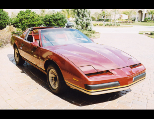 1986 PONTIAC FIREBIRD T-TOP COUPE -  - 20627