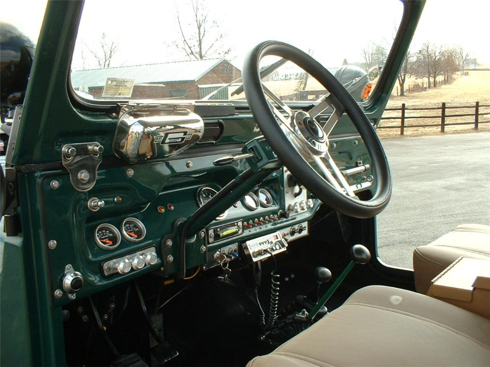 1972 JEEP CJ-5 UNKNOWN - Interior - 20628