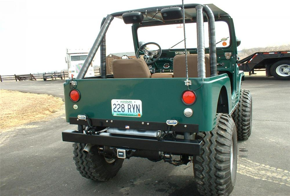 1972 JEEP CJ-5 UNKNOWN - Rear 3/4 - 20628