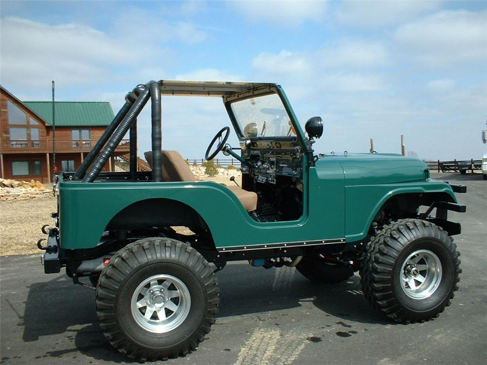 1972 JEEP CJ-5 UNKNOWN - Side Profile - 20628