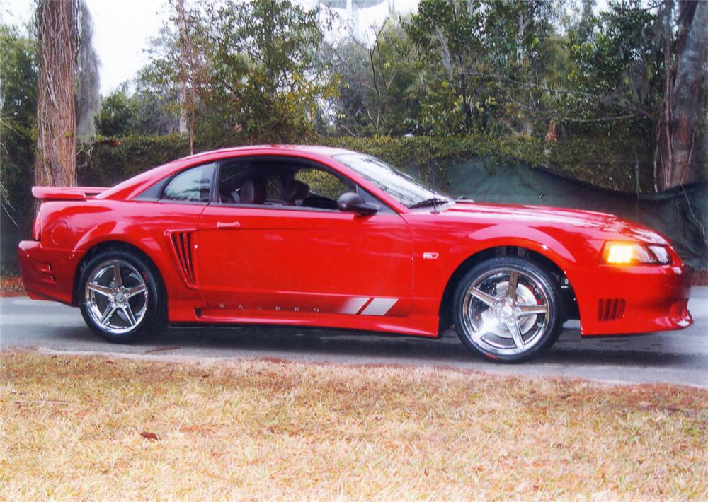 2002 FORD SALEEN MUSTANG COUPE - Front 3/4 - 20638