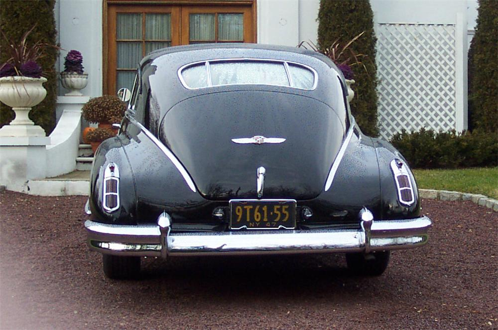 1947 CADILLAC SERIES 62 FASTBACK COUPE - Rear 3/4 - 20640