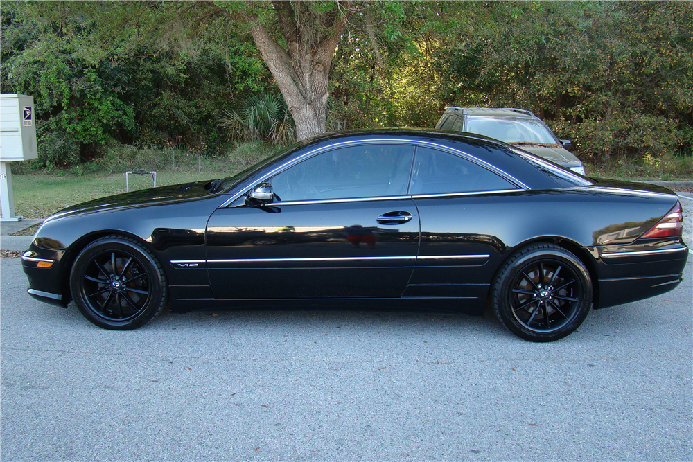 2002 mercedes benz cl600 206417
