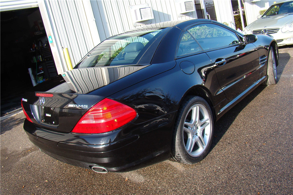 2006 mercedes benz sl500 amg convertible 206419