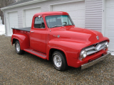 1955 FORD F-100 CUSTOM PICKUP -  - 20642