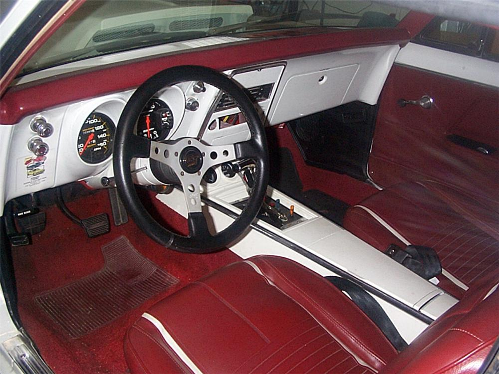 1967 CHEVROLET CAMARO RS/SS CUSTOM COUPE - Interior - 20643