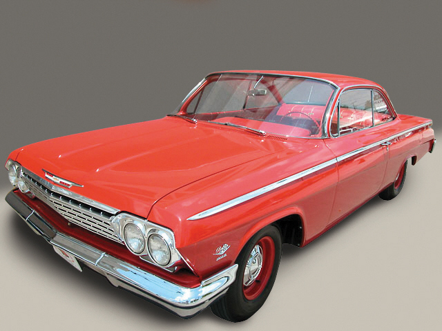 1962 CHEVROLET BEL AIR BUBBLE TOP - Front 3/4 - 20644